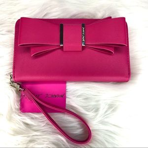 Betsey Johnson Pink Bow Wallet